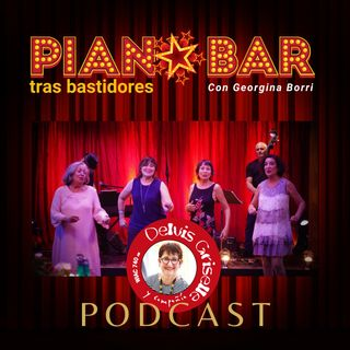 Georgina Borri y el Piano Bar trasbastidores