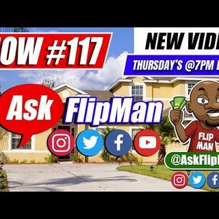 How to Wholesale Real Estate With No Money - Ask Flip Man You Live Show 117 [Flippinar]