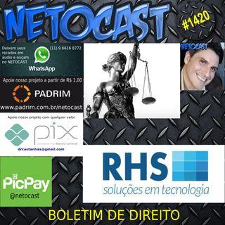 NETOCAST 1420 DE 05/05/2021 - BOLETIM DE DIREITO