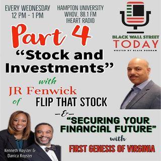 Stocks & Entrepreneurship Part 4 on Black Wall Street Today ( #BlackWallStreetToday by #BlackBRAND )