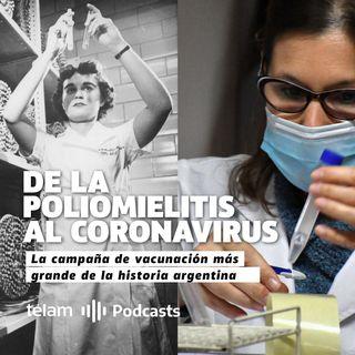 De la poliomielitis al coronavirus: La campaña de vacunación más grande de la historia argentina