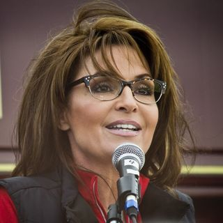 Palin Campaigns For Trump In Wisconsin