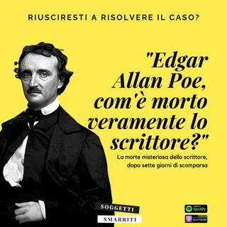 Edgar Allan Poe e il mistero irrisolto della sua morte