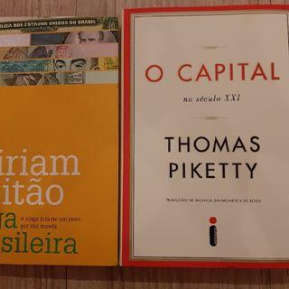 """Resenha literária sobre o livro """"Saga Brasileira: a longa luta de um povo por sua moeda"""" e """"O Capital no Século XXI"""""""