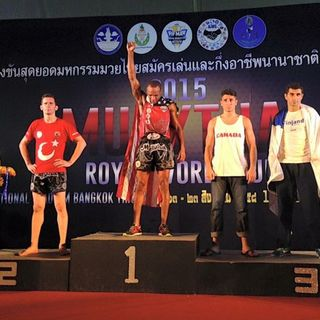Sports of all sorts: Muay Thai Kickoxer Troy Jones