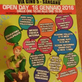 Open Day Neverland Nido E Infanzia