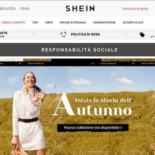 Shein: le false dichiarazioni sulle fabbriche del marchio ultra-fast-fashion