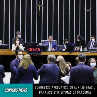 Congresso aprova Auxílio Brasil para assistir vítimas da pandemia