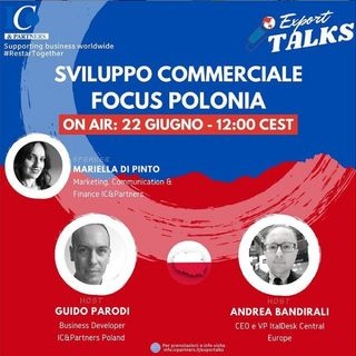 Export talks: Sviluppo Commerciale Focus Polonia