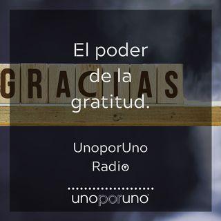 El poder de la gratitud.