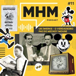 Ub Iwerks - o verdadeiro pai do Mickey Mouse