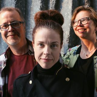 Jessika Gedin, Jonathan Lindström och Maja Aase