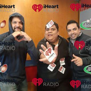 Iheart Radio 1 año en México Espacio Deportivo de la Tarde 29 de Octubre 2019