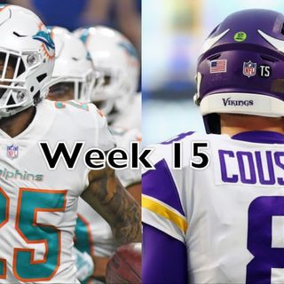Purple People Eaters: Dolphins vs. Vikings Preview! Coach Flip Fired, Cousins Seeing Ghosts, & More!
