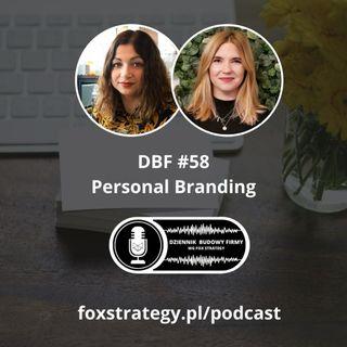 DBF #58: Personal Branding. Rozmowa z Anną Ledwoń-Blachą [BIZNES]