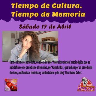 Tiempo de Cultura - Tiempo de Memoria #25 - CARMEN ROMERO