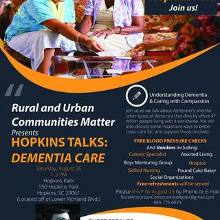 Hopkins Talks Dementia Care