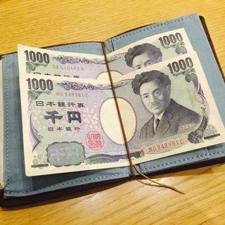 トラベラーズノートのパスポートサイズを財布として使ってみる。