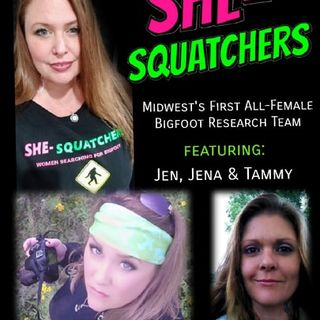 The She-Squatchers An All Female Bigfoot Investigation Group With Psychic Abilities