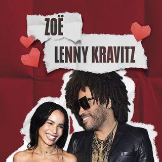 ¡Zoë y Lenny Kravitz, talento de familia!