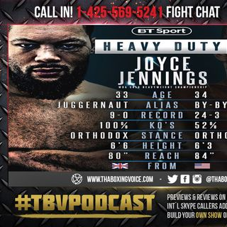 ☎️Joe Joyce vs Bryant Jennings Live Fight Chat🔥