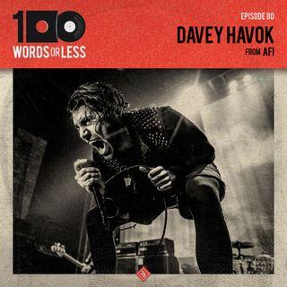 Davey Havok from AFI
