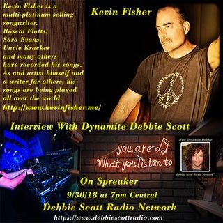 INTERVIEW WITH KEVIN FISHER !!!   9-30-18
