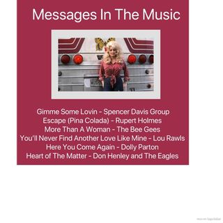 Messages In The Music - Gimme Some Lovin'