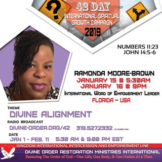 Poverty... a season or a Lifestyle? | Ramonda Moore-Brown | 42 Days Divine Alignment