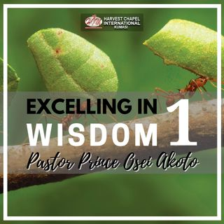Excelling in Wisdom - Part 1