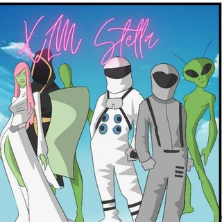 Space Age Friends By XLM Stella