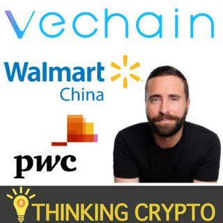 Interview: VeChain North America GM Jason Rockwood - VET vs VeChain THOR GAS - Walmart China PwC Partnerships - US Exchange Listing