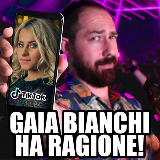Gaia Bianchi Ha ragione! Discoteche Chiuse? Scuole Chiuse!