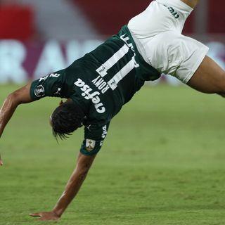 Gol de Palmeiras: Rony 0-1