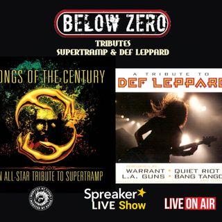 BELOW ZERO - TRIBUTE TO SUPERTRAMP & DEF LEPPARD