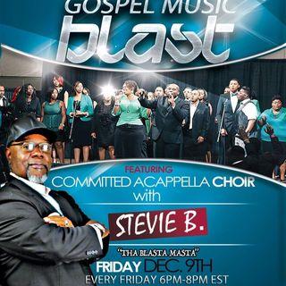 Stevie B's Acappella Gospel Music Blast  Episode 23