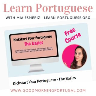 Portugal news, weather & today: learn Portuguese with Mia