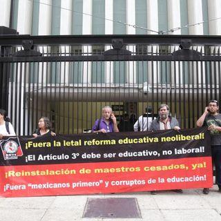 CNTE bloquea ambas Cámaras en su rechazo a la Reforma Educativa