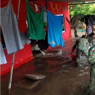 La Sedena activo el plan DN-III, en 11 municipios por lluvias en Veracruz