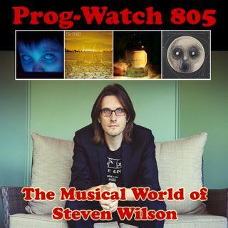 Episode 805 - The Musical World of Steven Wilson