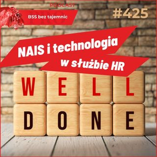 #425 W duecie z Tomaszem Józefackim rozmowa o NAIS i technologii w służbie HR