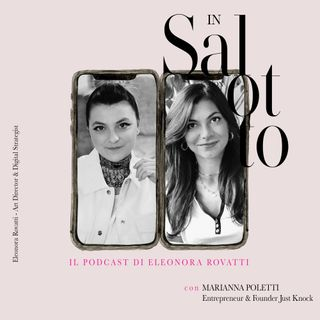 016 #insalottocon Marianna Poletti - Founder Just Knock