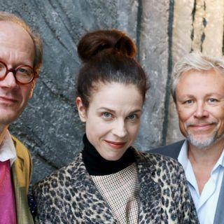 Johan Hakelius, Jessika Gedin och Staffan Dopping