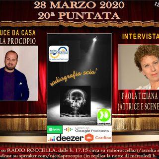 Radiografia Scio' - N.20 del 28-03-2020