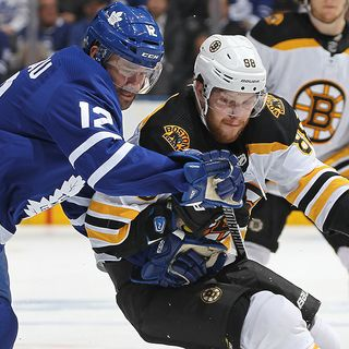 Bruins Not Intimidated By Game 7 Vs. Maple Leafs