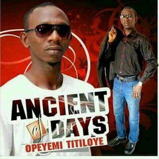 Opeyemi Titiloye - Divine Rhythm Band.