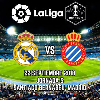 Real Madrid vs RCD Espanyol en VIVO