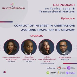 Conflict of Interest in Arbitration: Avoiding Traps for the Unwary