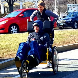 2 Years After Paralyzing Accident, Somerville Couple Runs Marathon Route