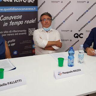 CASTELLAMONTE - Il confronto tra i candidati a sindaco